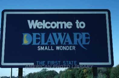 デラウェア州へようこそ